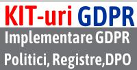 peste 10 tipuri de Kit GDPR comandabile online